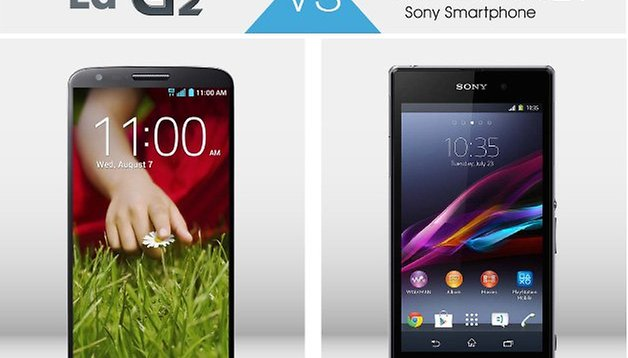 Android-Duell: LG G2 vs. Xperia Z1 - wer ist besser?