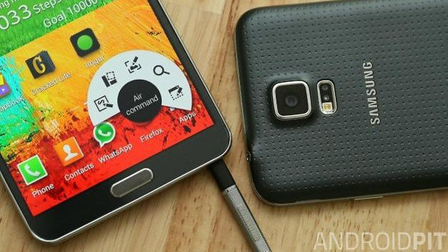 androidpit samsung galaxy s5 galaxy note 3 new
