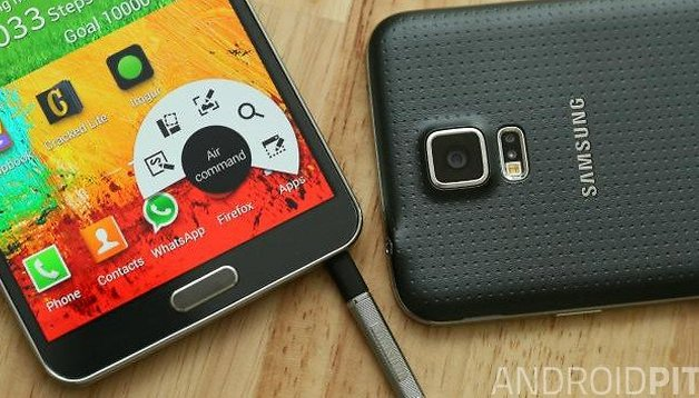 Samsung Galaxy Note 3 : comment faire une capture d'écran (screenshot)