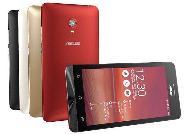 Asus stellt Padfone Mini und ZenFone 4, 5 und 6 vor