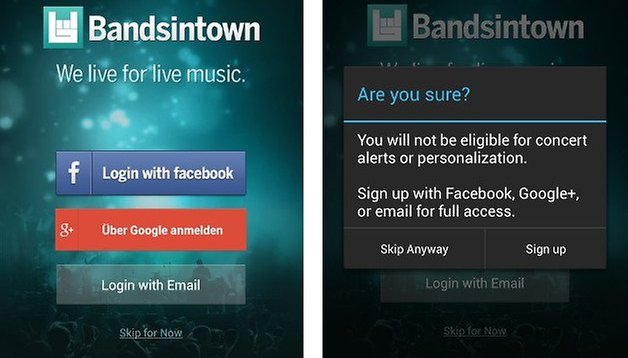 Bandsintown Concerts: never miss a concert again