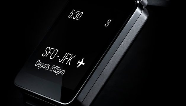 LG G Watch revealed along with Android Wear
