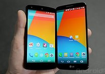Nexus 5 and LG G2 comparison: not quite on par