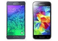 Samsung Galaxy Alpha vs Galaxy S5 Mini - Comparación