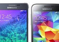 Samsung Galaxy Alpha vs. Galaxy S5 Mini: Zwei auf Augenhöhe