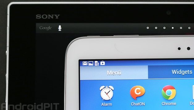 Sony Xperia Z Tablet and Samsung Galaxy Tab 3 10.1 compared