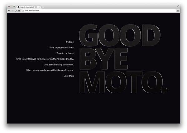 goodbye moto 4