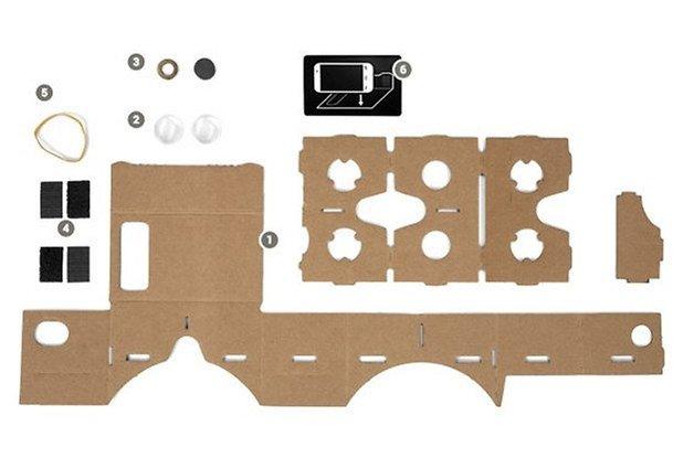 google cardboard bausatz
