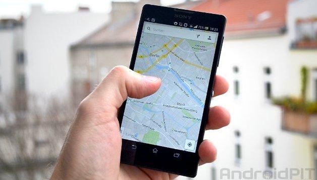 Google Maps 8.2 - azioni vocali e profili altimetrici per percorsi in bici