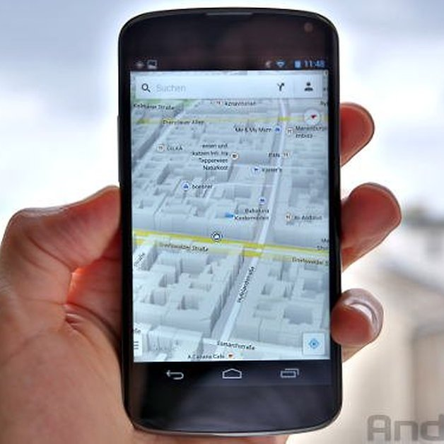 Update] Google Maps For Android Updated With New Design & Functions ...