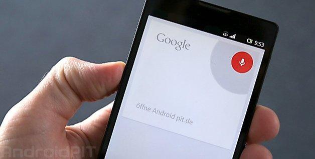 google sprachsuche Teaser