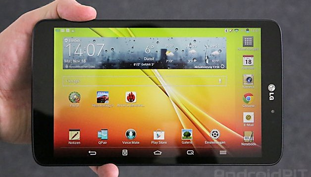 LG G Pad 8.3 im Test: Eines der besten Tablets des Jahres