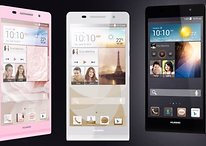 Huawei presents world's thinnest smartphone: the Ascend P6