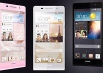[Update 2] Ascend P6: Huawei stellt das 6,2-Millimeter-Smartphone vor