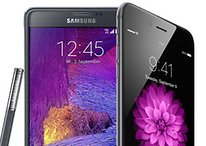 Apple iPhone 6 Plus vs Samsung Galaxy Note 4 - Guerra de titanes