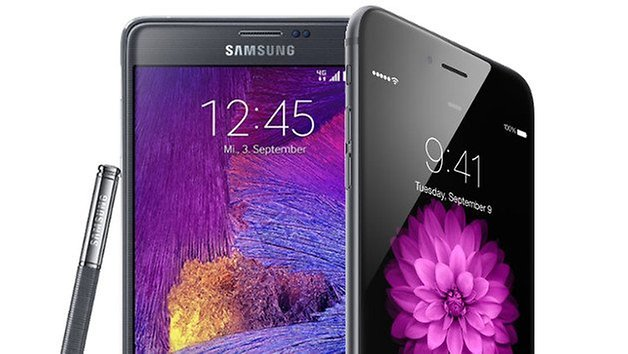 iphone 6 plus vs samsung galaxy note 4 teaser