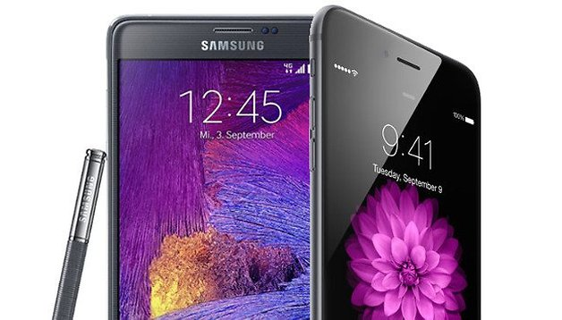 iPhone 6 Plus vs. Galaxy Note 4: começa a guerra dos phablets