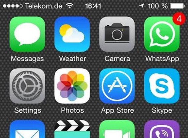 iphone missed messages screenshot