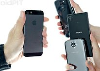 iPhone 5S vs. gama alta Android (Galaxy S4, LG G2 y Xperia Z1)