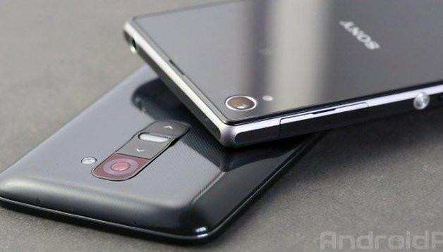 LG G2 vs Sony Xperia Z1 : le duel de choc