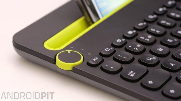 gadget der woche logitech k480 die bluetooth tastatur f r bis zu drei ger te androidpit. Black Bedroom Furniture Sets. Home Design Ideas