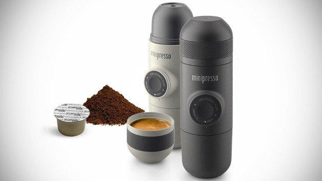 gadget der woche minipresso die espresso maschine f r. Black Bedroom Furniture Sets. Home Design Ideas