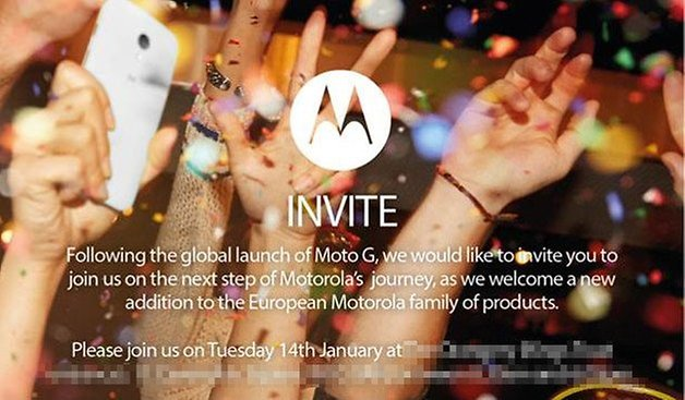 motorola invite january london