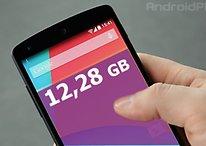 Nexus 5, Galaxy S4 und Co.: Wer bietet den meisten Speicher fürs Geld?