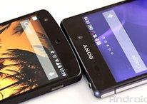 Sony Xperia Z2 vs. Google Nexus 5