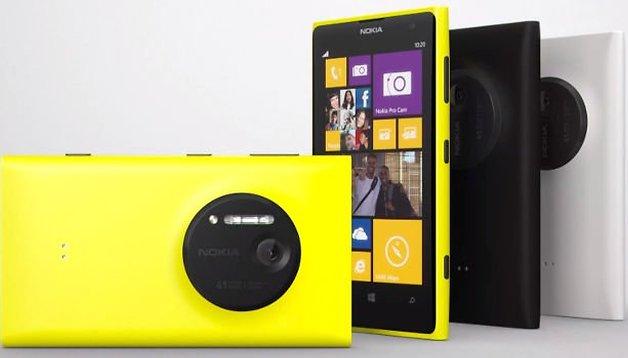 Nokia Lumia 1020 vorgestellt: Vergleich mit Galaxy S4 und iPhone 5