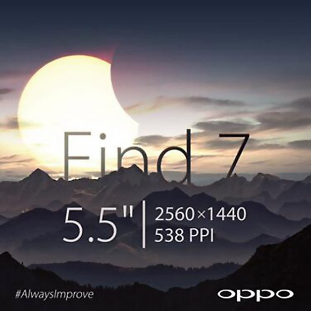 oppo find7 display 55