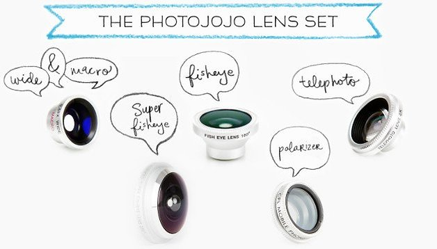 Gadget of the week: Photojojo lenses to stick on your Android