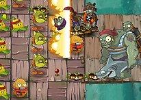Update für Plants vs. Zombies 2: Neue Zombies, Karten und Turbo-Modus