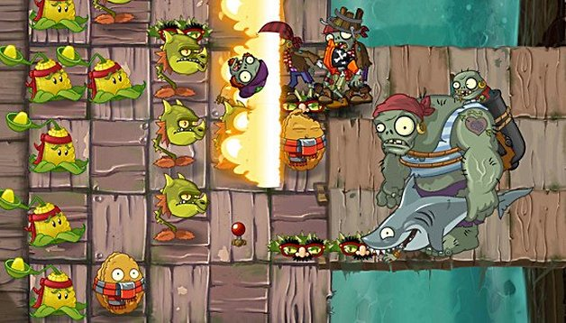 Plants vs Zombies 2 : mise à jour avec de nouveaux zombies et cartes !
