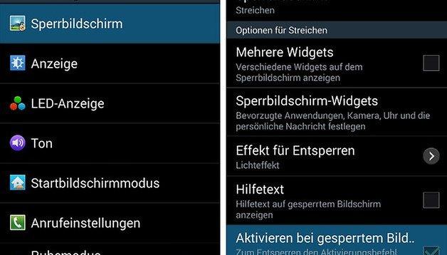 Galaxy S3 und S4: Mit Sprachbefehl Aktionen vom Lockscreen aus starten