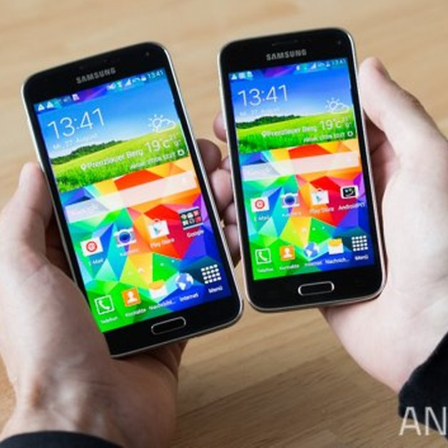 Samsung Galaxy S5 Vs S5 Mini Only A Small Difference Nextpit