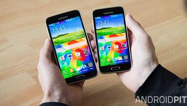 Samsung Galaxy S5 vs. S5 Mini: only a small difference
