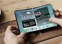 Samsung promises folding displays in 2015