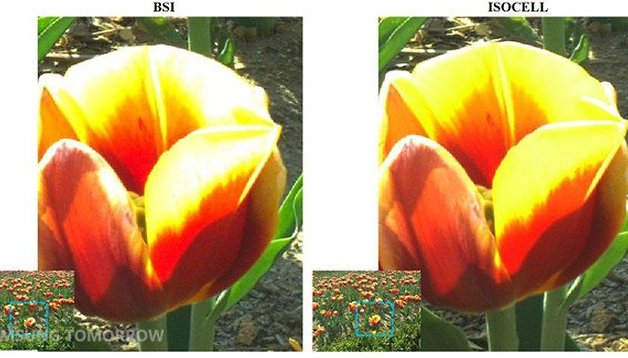 Samsung ISOCELL sensor: better color in low-light photography