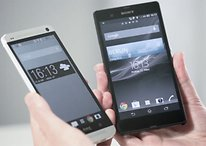 HTC One vs Sony Xperia Z: The Naked Truth in our Video