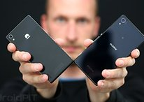 Sony Xperia Z2 vs. Huawei Ascend P7: glass showdown