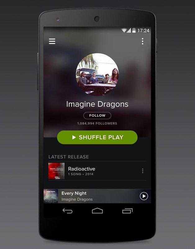 spotify app update 2