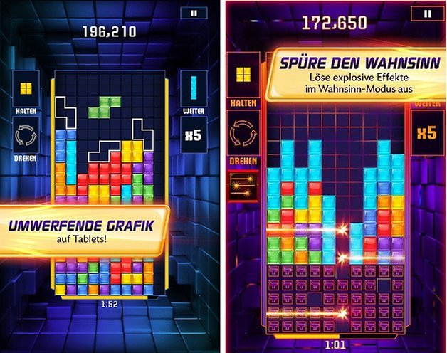 tetris blitz screenshots