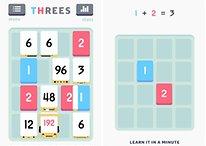 Threes! für Android: Das Kult-Zahlenpuzzle und sein Ableger Fives