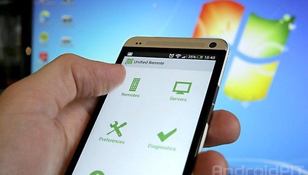 Unified Remote So Wird Das Smartphone Zur Pc Fernbedienung Androidpit