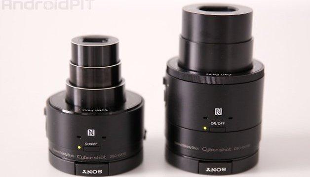 Sony QX10 und QX100 im Vergleich: Der Aufpreis lohnt sich