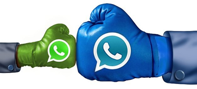whatsapp whatsapp plus comparison shutterstock 116291926