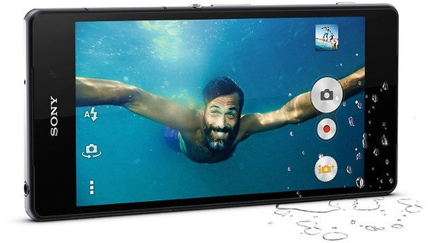 xperia z2 camera underwater