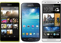 Sony Xperia Z1 Compact vs. HTC One Mini vs. Galaxy S4 Mini