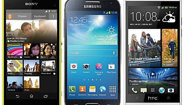 Sony Xperia Z1 Compact vs. HTC One Mini vs. Galaxy S4 Mini